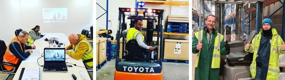Forklift Driver Training Leicester